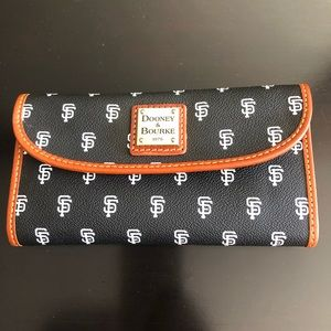 Rooney & Bourke SF Giants wallet NWT